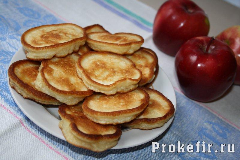 оладьи из яблок рецепты с фото на скорую руку
