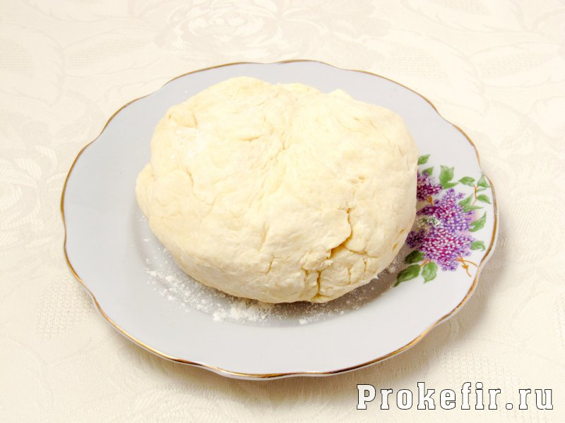 Открытый пирог с курицей и картошкой с кефирной заливкой: фото 3