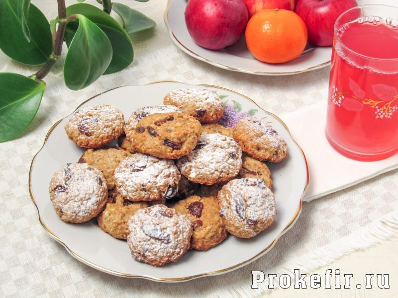 Овсяное печенье из геркулеса рецепт без муки яиц и масла на кефире: фото 6