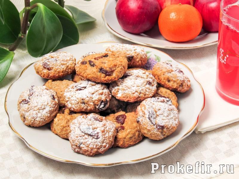 Овсяное печенье из геркулеса рецепт без муки яиц и масла на кефире