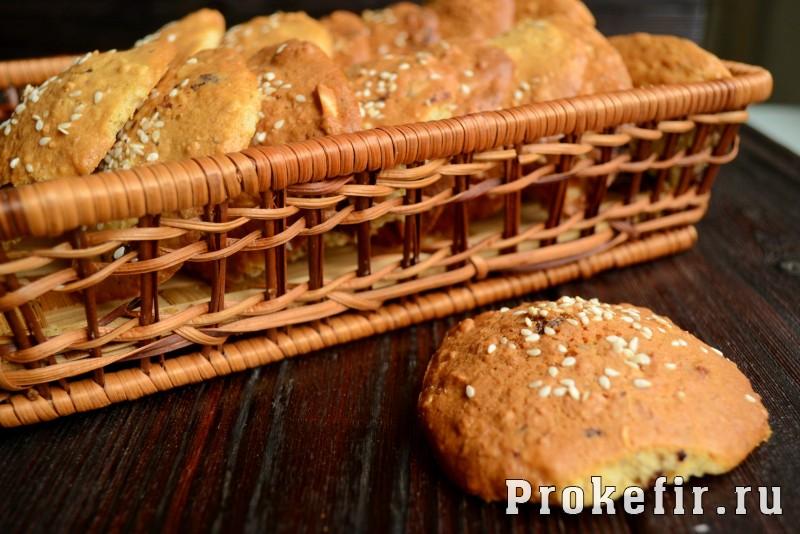 Овсяное печенье рецепт классический с шоколадом и орехами на кефире