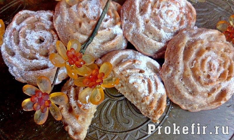 Овсяные кексы без муки и сахара