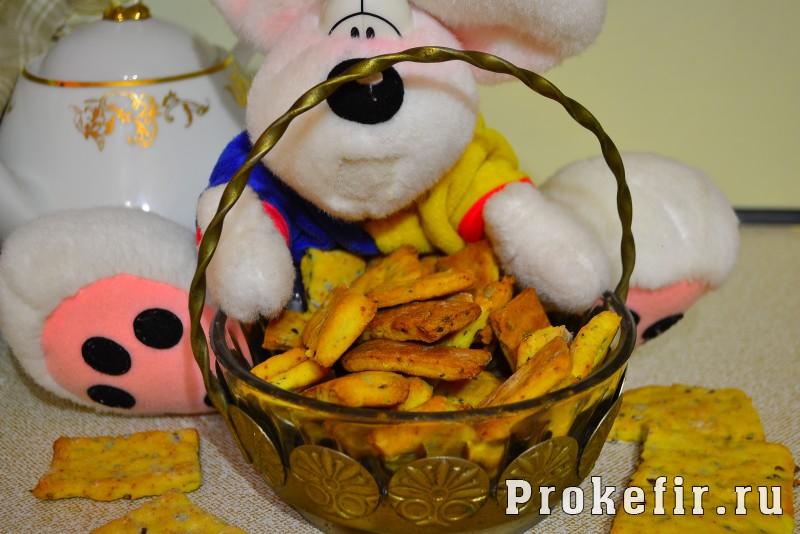 Печенье из кукурузной муки на кефире: фото 7