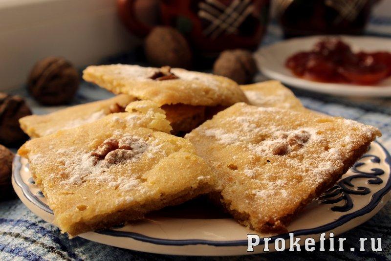 Печенье из рисовой муки рецепт на кефире