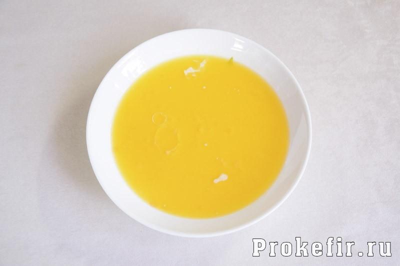 Печенье хризантема через мясорубку с кефиром: фото 2