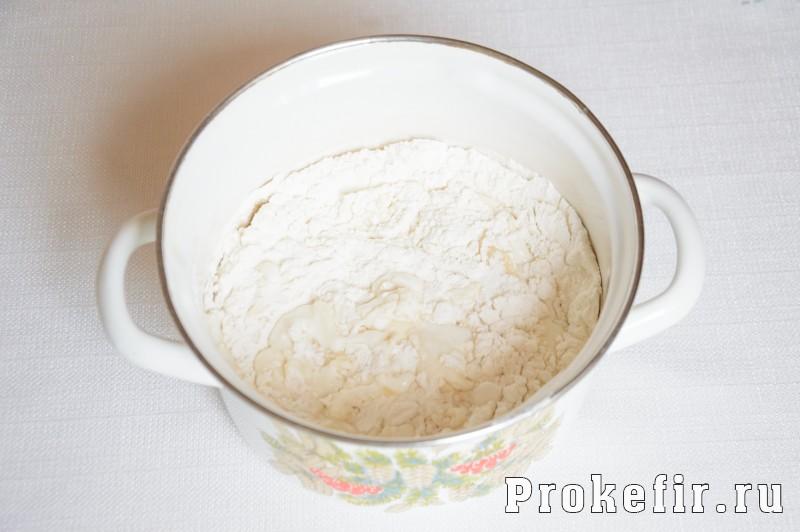 Печенье на сковороде на скорую руку на кефире: фото 3