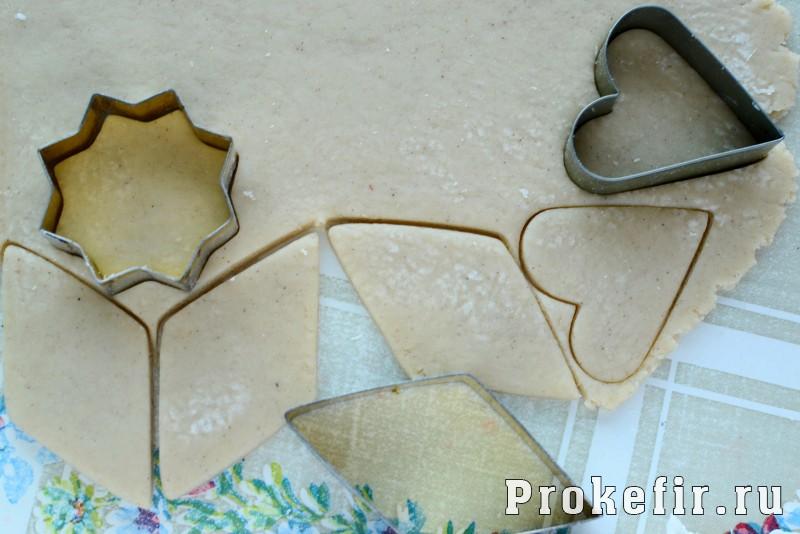 Печенье песочное домашнее рецепт на маргарине и кефире на скорую руку: фото 6