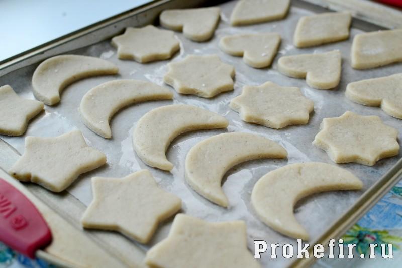 Печенье песочное домашнее рецепт на маргарине и кефире на скорую руку: фото 7