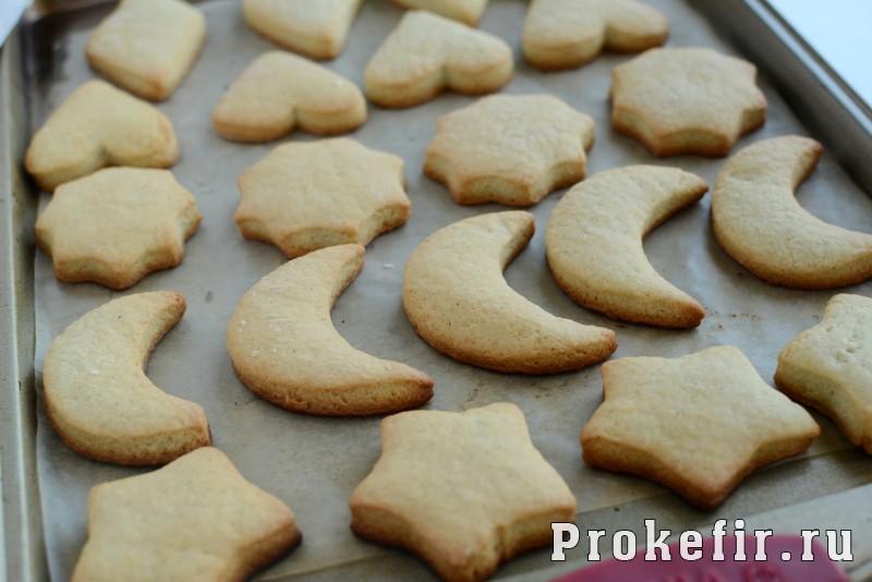 Печенье песочное домашнее рецепт на маргарине и кефире на скорую руку: фото 8