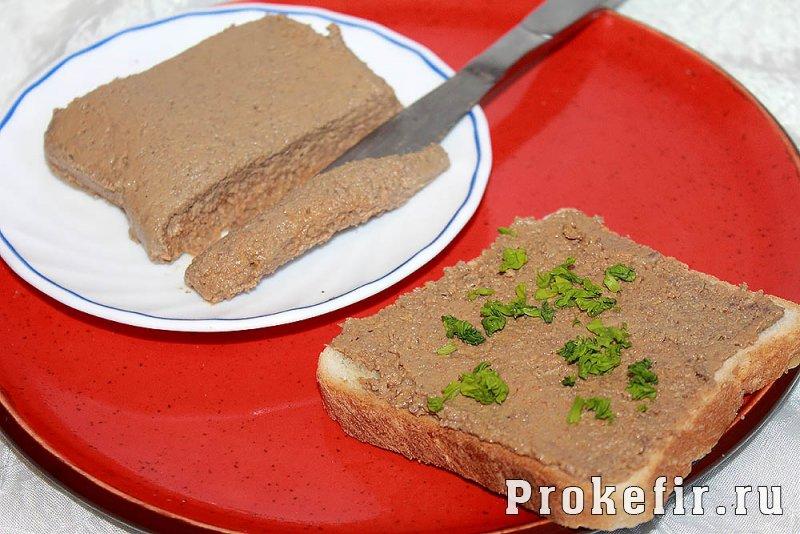Рецепты печеночного паштета из свиной печени в домашних условиях 893