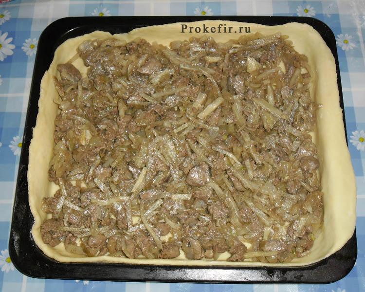 Печеночныи пирог на кефире: фото 17