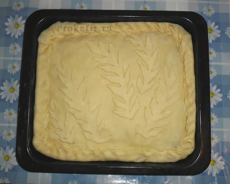 Печеночныи пирог на кефире: фото 19