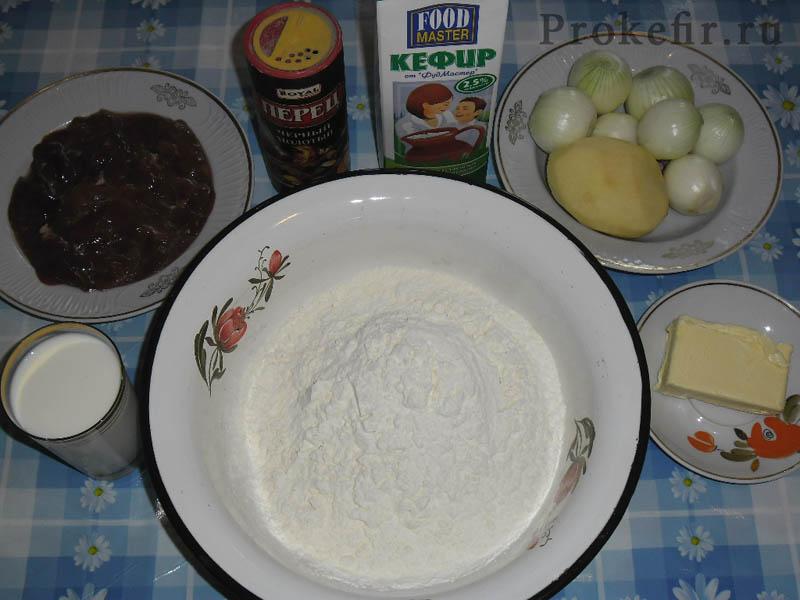 Печеночныи пирог на кефире: фото 2