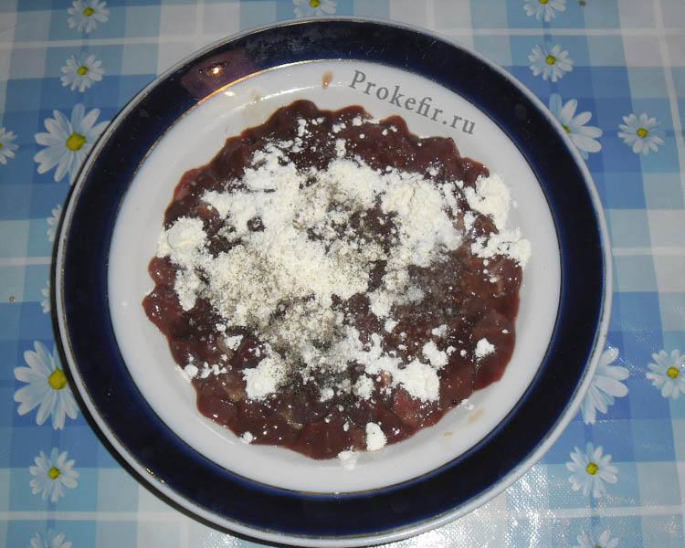 Печеночныи пирог на кефире: фото 8