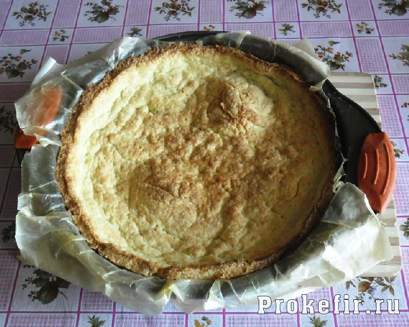 Рецепт песочного пирога с желе из кефира: фото 14