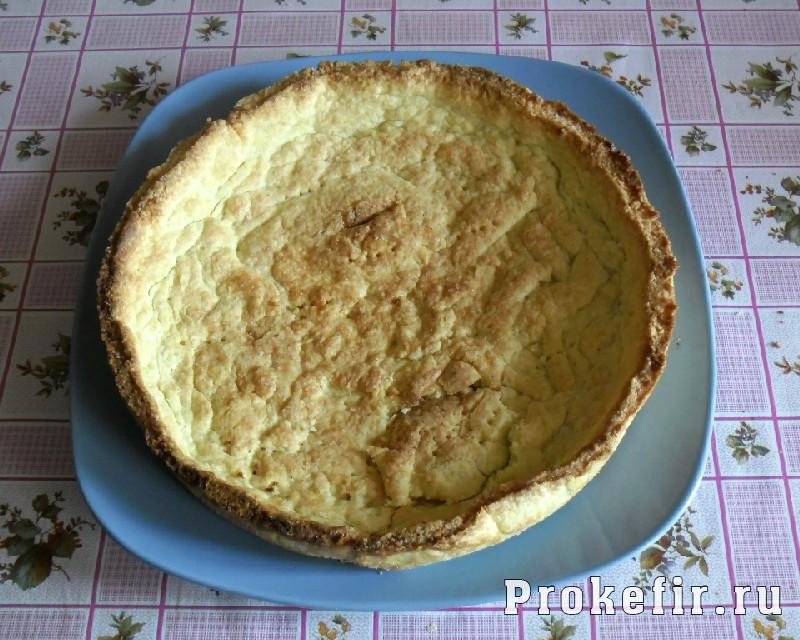 Рецепт песочного пирога с желе из кефира: фото 15