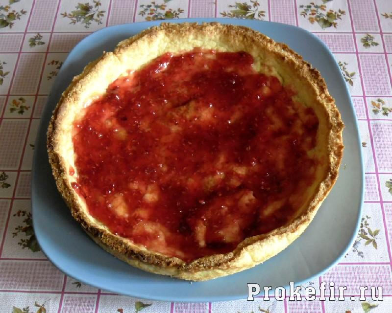 Рецепт песочного пирога с желе из кефира: фото 17