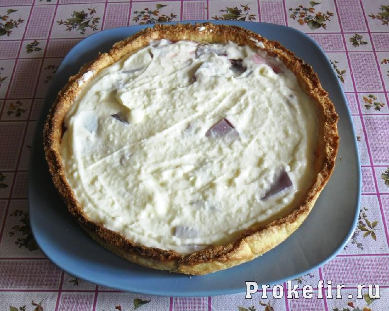 Рецепт песочного пирога с желе из кефира: фото 18