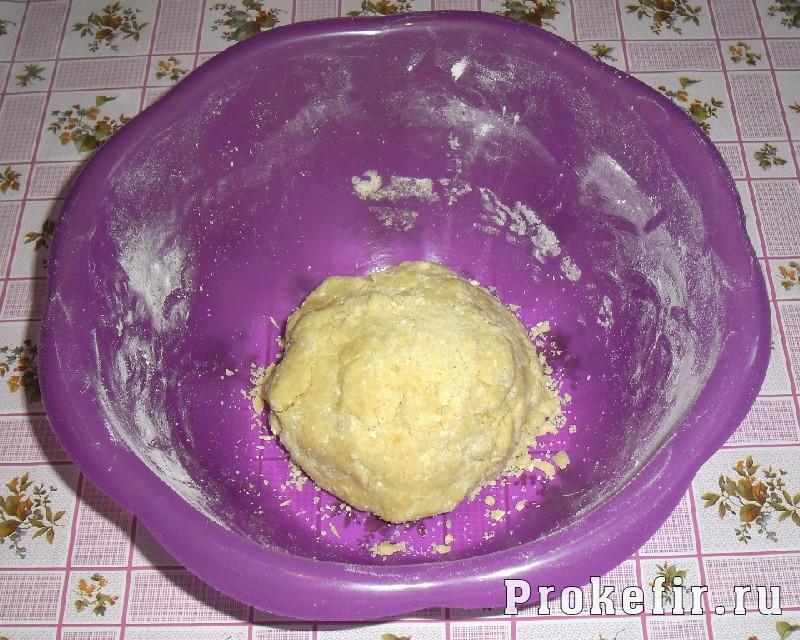 Рецепт песочного пирога с желе из кефира: фото 5