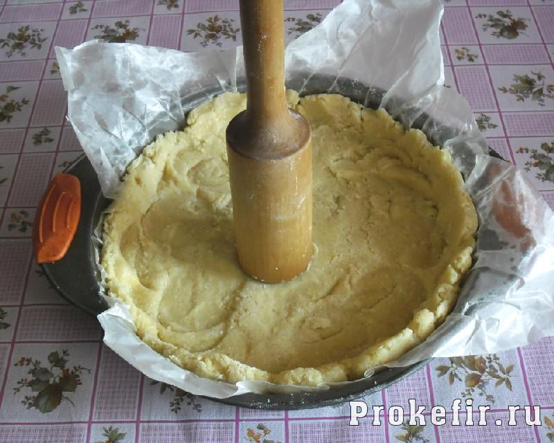 Рецепт песочного пирога с желе из кефира: фото 9