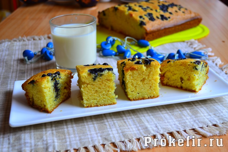 Пирог из кукурузной муки на кефире: фото 8