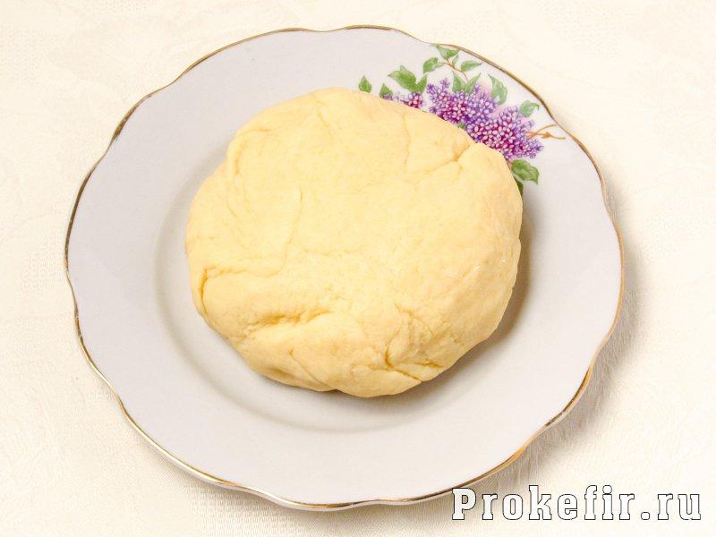 Пирог с фаршем и картошкой в духовке на кефире: фото 5