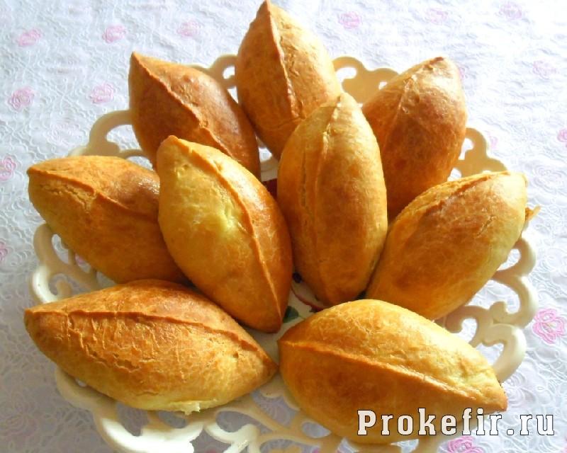 Рецепт теста для пирожков на кефире: фото 3