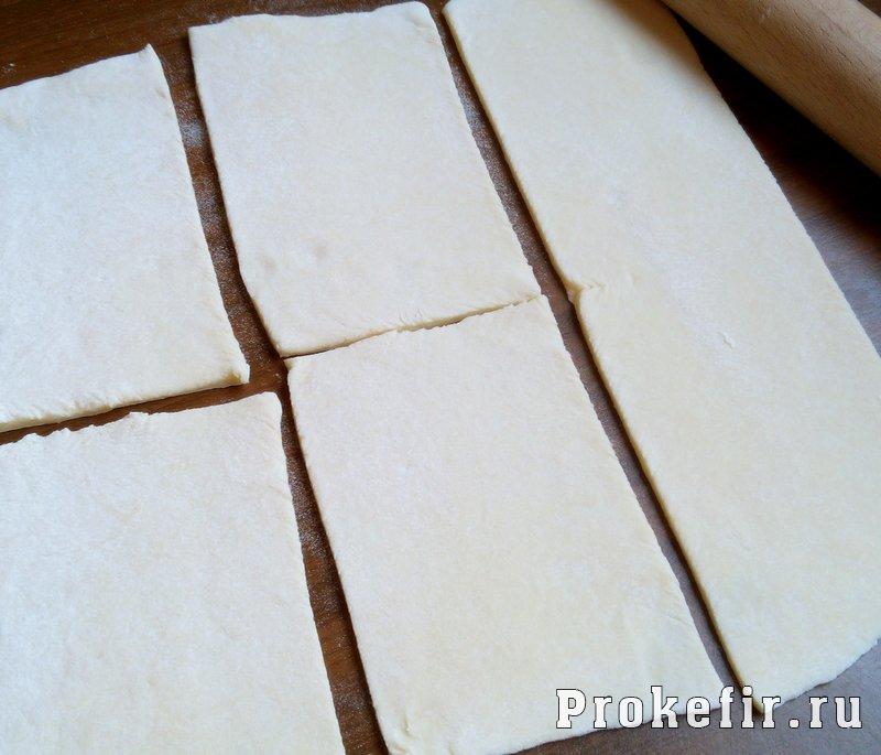 Пирожки на кефире без дрожжей с мясным фаршем: фото 6
