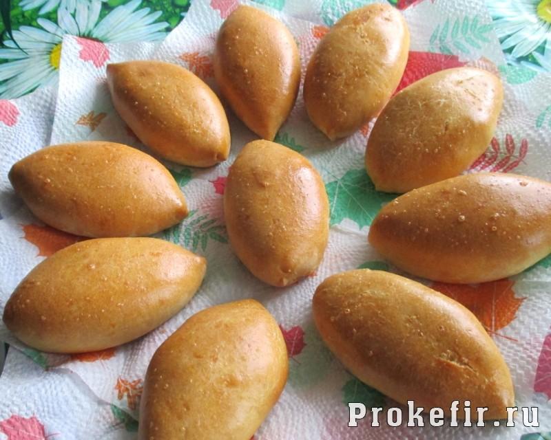 Пирожки пряные на кефире с картошкой карри и тмином: фото 20