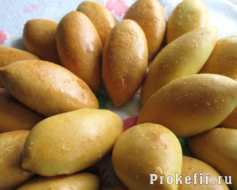 Пирожки пряные на кефире с картошкой карри и тмином: фото 21