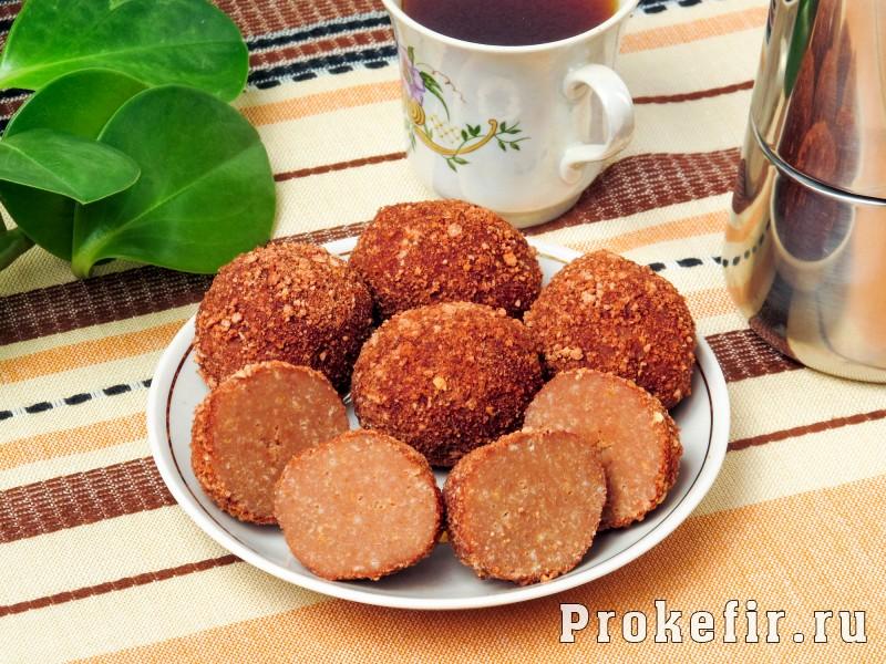 Пирожное картошка из сухарей без сгущенки на кефире: фото 7
