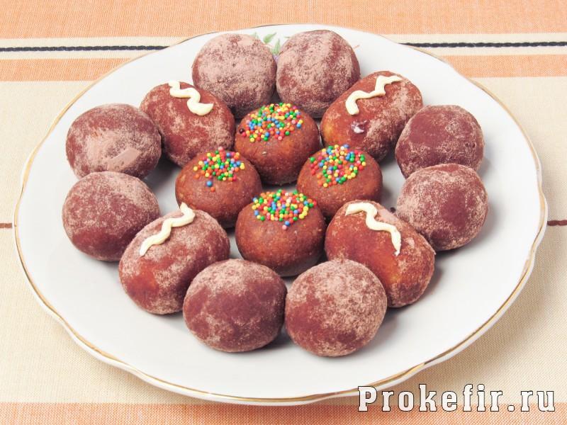 Пирожное картошка рецепт из печеня и сгущенки: фото 8