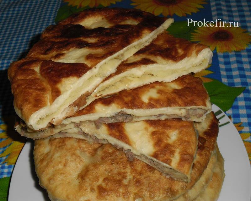Молдавские плацинды с картошкой на кефире