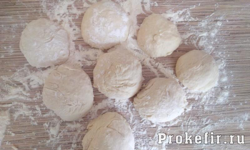 Плюшки на кефире без дрожжей в духовке: фото 7