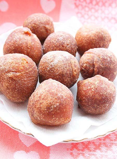 Бездрожжевые пончики на кефире