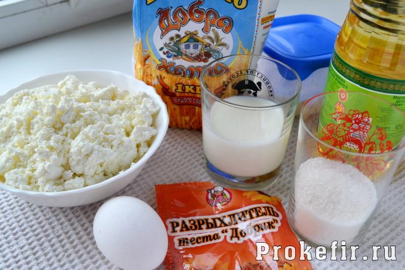 Пончики с творогом рецепт пошаговый с фото на кефире: фото 1