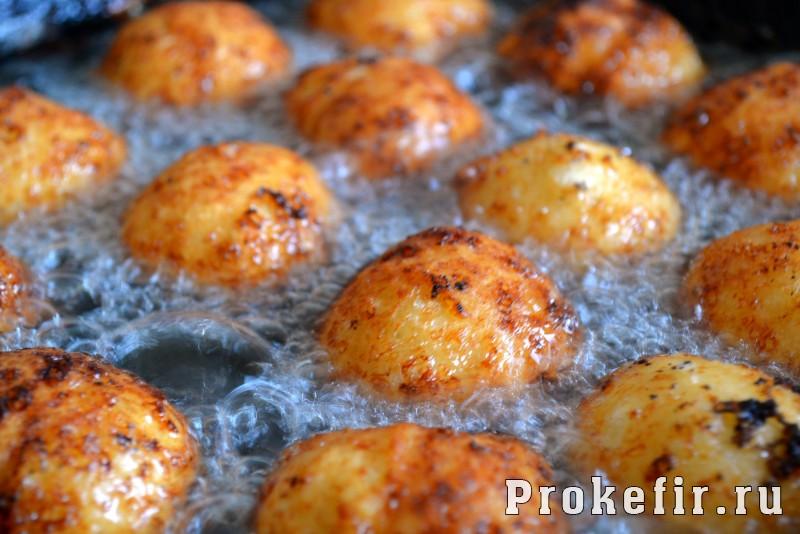 Пончики с творогом рецепт пошаговый с фото на кефире: фото 5