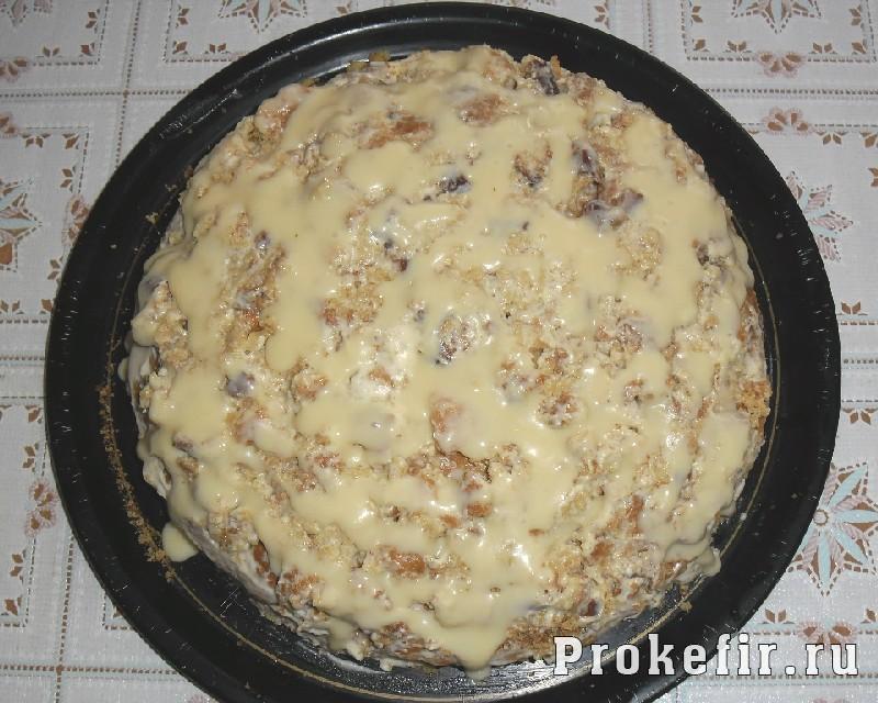 Рецепт простого торта: Шаг 12