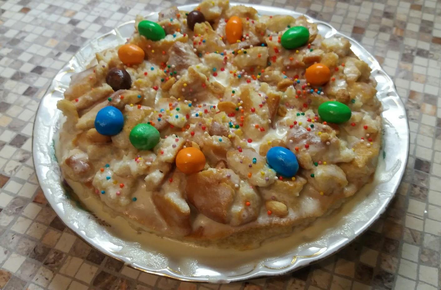 Простой и вкусный торт от юлии с араhисом