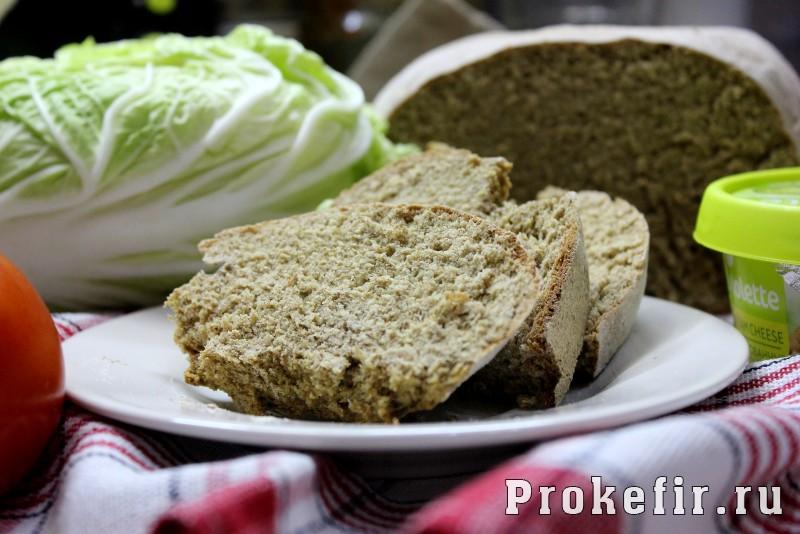 Простой рецепт ароматного вкусного хлеба без заморочек на кефире