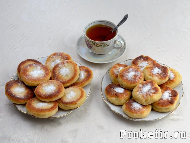 Пышки на дрожжах и кефире жареные на сковороде: фото 6