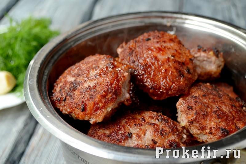 Рецепт котлет из фарша говядины и свинины с картошкой без хлеба