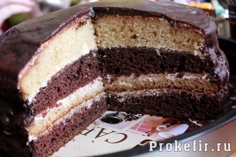 Рецепт торта поль робсон на кефире