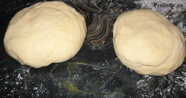 Тесто для рогаликов на кефире