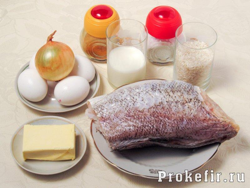 Рыбное суфле рецепт в духовке для детей без молока: фото 1