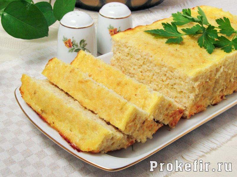Рыбное суфле рецепт в духовке для детей без молока