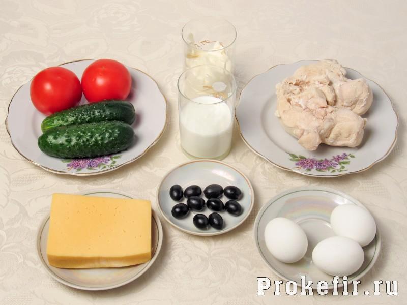 салат арбуз с курицей пошаговый рецепт с фото