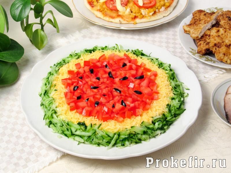 салат арбузная корка пошаговый рецепт