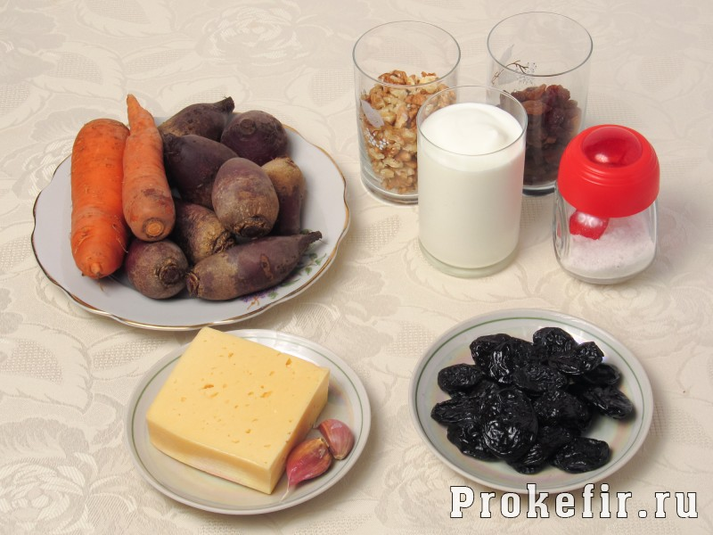 Салат любовнытса со свеклой и морковью: фото 1