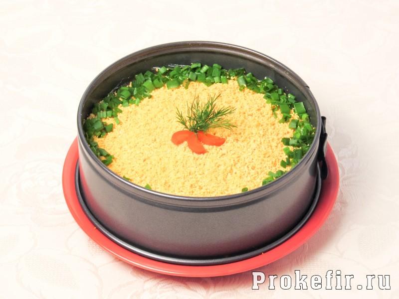 Салат мимоза с яблоком с картошкой рецепт с плавленым сыром: фото 9